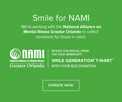 Mount Dora Modern Dentistry - We're working with National Alliance on Mental Illness to collect donations